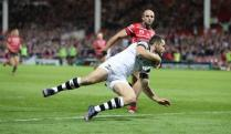 THIRTY TWO UNANSWERED POINTS SEE BRIS FALL TO GLOS
