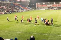 View from the south stand: Sale 29 Saracens 22