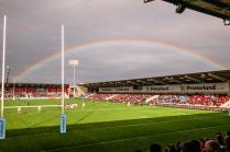 View from the south stand: Sale 21 Worcester 15