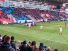 View from the south stand: Sale 12 Newcastle 28