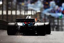 Monaco GP: Williams Martini outside top 10 in FP2