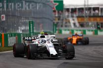 Canadian GP: Further disappointment for Williams Martini