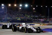 Singapore GP: Williams Martini finish outside points