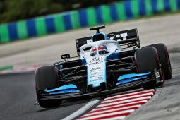 Hungarian GP: ROKiT Williams continues with update testing