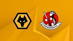Match Thread: Europa League - Wolves vs Crusaders