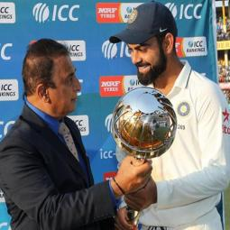 India Test Cricket Champions 3rd Year in a Row