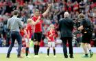 Carrick scores as over 70,000 attend his testimonial