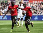 Brilliant United fire four again as Swans sunk