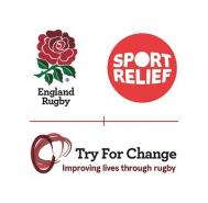 England Rugby in Partnership with Sport Relief