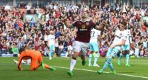 Burnley 1 West Ham 2