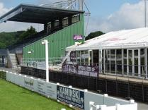 Improved facilities in the Supporters marquee