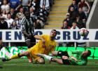 Newcastle lose 1-0 to Fulham in end of season battle