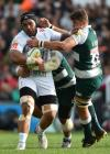 Quins scorched by Burns