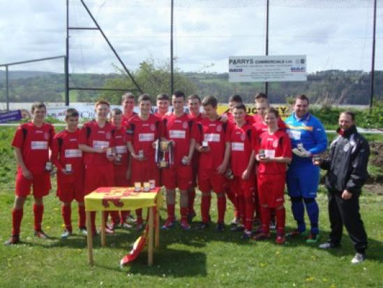 Reserves crowned N Wales Premier Reserve League Champions