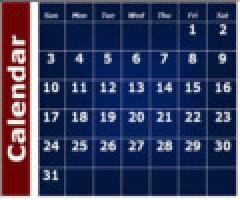 H&D Calendar 2013