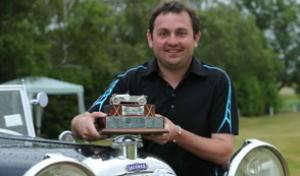 Winner Phil Ridden - Lagonda Trophy Golf Tournament 2011
