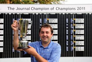 Phil Ridden is the Journal Champion of Champions 2011